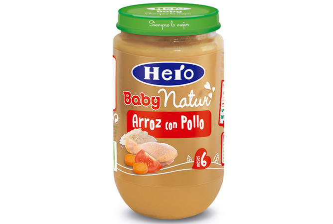 Arroz con pollo, de Hero BabyNatur