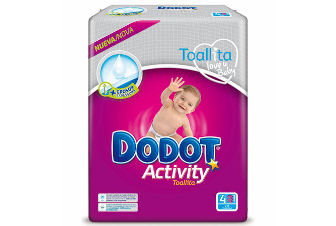 Toallitas Dodot Activity