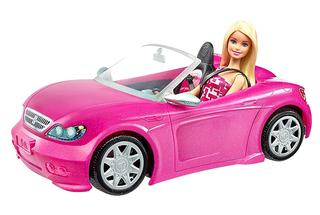 Barbie y su descapotable de Mattel