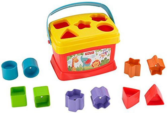 Cubo encajable, de Fisher Price