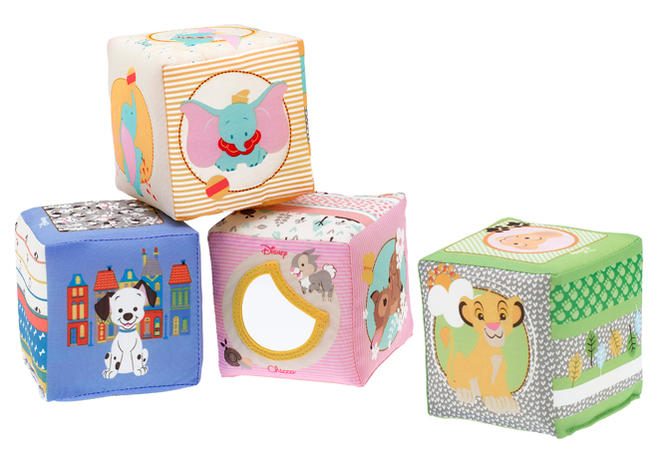 Disney Soft Cubes de Chicco