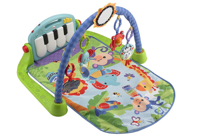 Gimnasio Piano-Pataditas, de Fisher Price