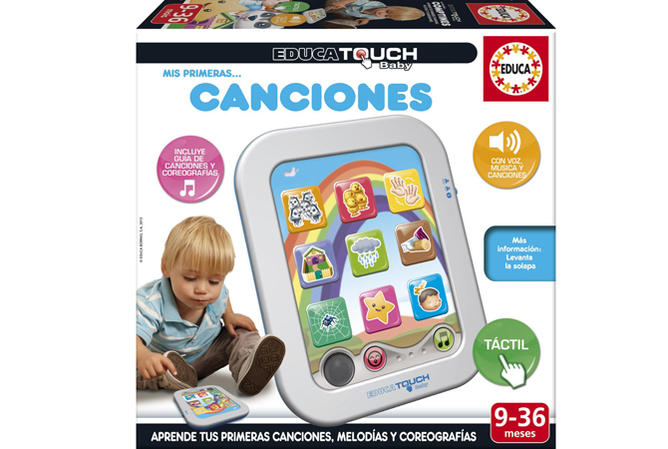 Educa Touch primeras canciones, de Educa