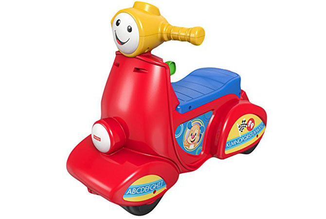 Mi primera moto de Fisher Price