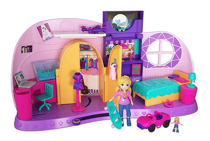 Habitación transformación de Polly Pocket