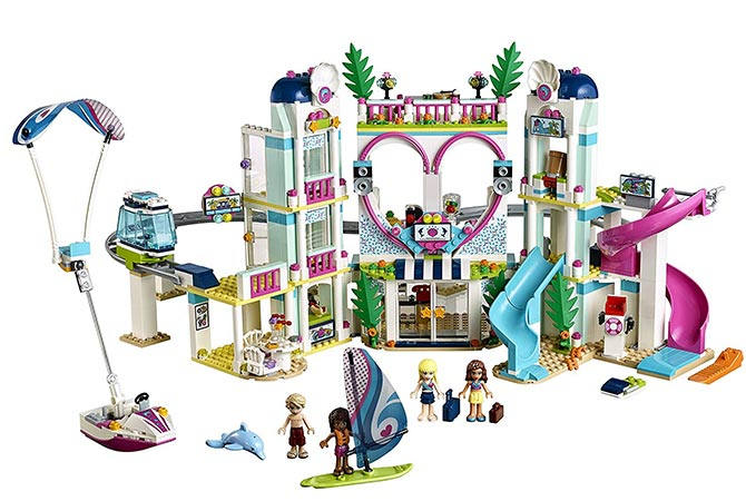 Resort de Heartlake City de LEGO