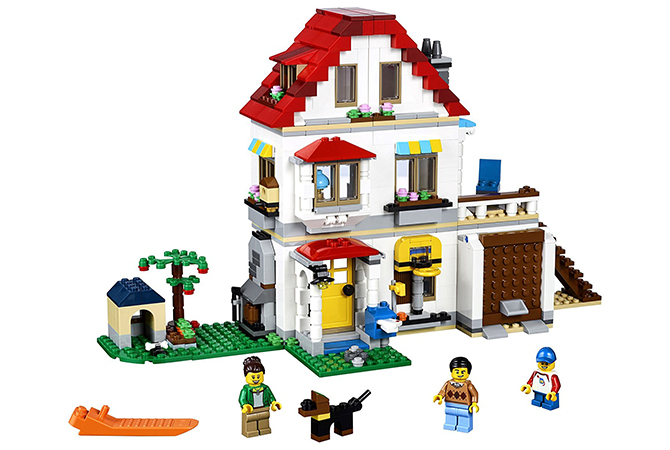 Villa familiar modular de LEGO
