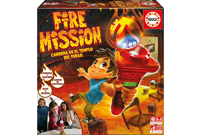 Fire Mission de Educa