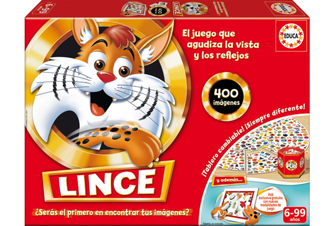 Lince edición familiar de Educa