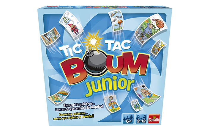 Tic Tac Boum Junior, de Goliath
