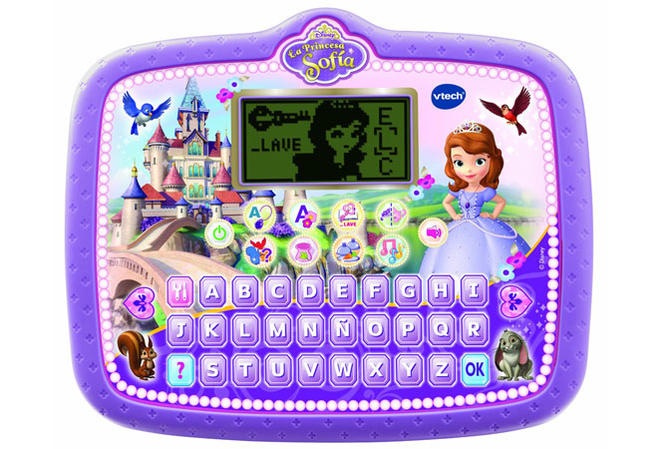Tablet educativa Princesa Sofía, de Vtech
