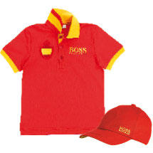 polo y gorra, de Hugo Boss